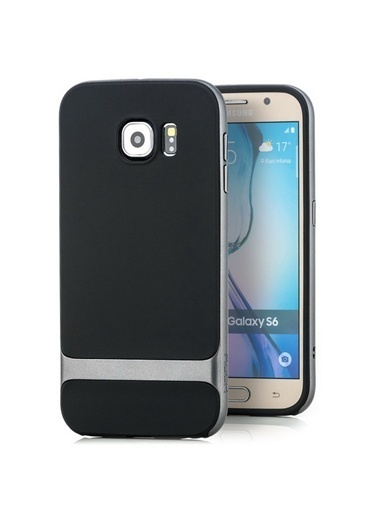 Royce Series Hybrid Samsung Galaxy S6 Kılıf -Rock